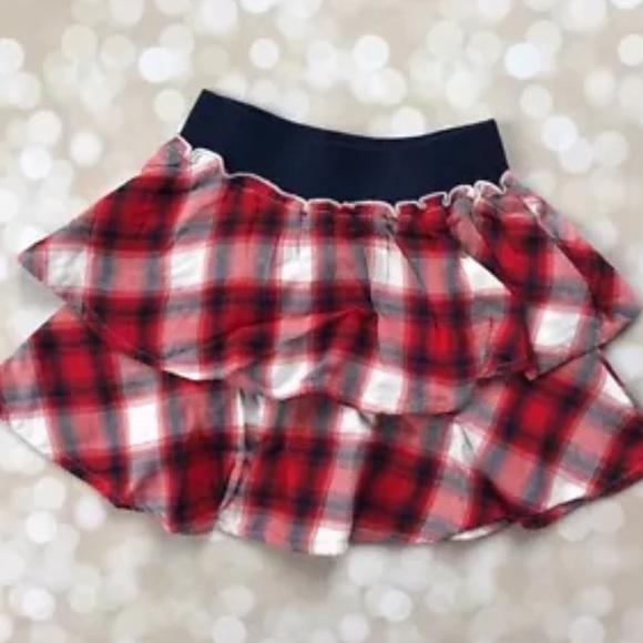 cc008e0cab GAP Bottoms | Nwt Baby Girls 3t 3 Plaid Navy Blue Red Skirt | Poshmark
